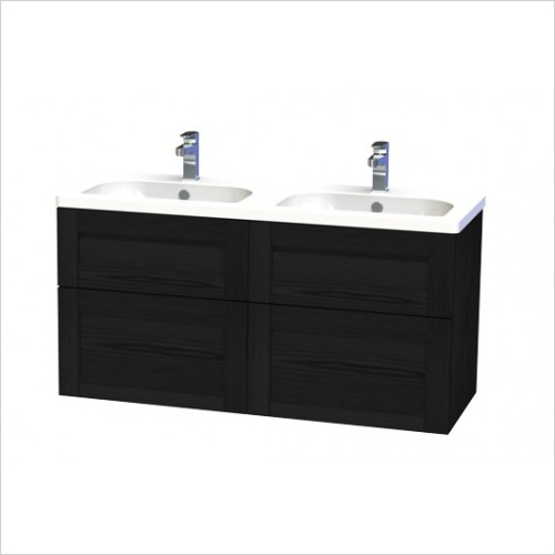 Miller Furniture - London Vanity Unit 120cm With 4 Drawers