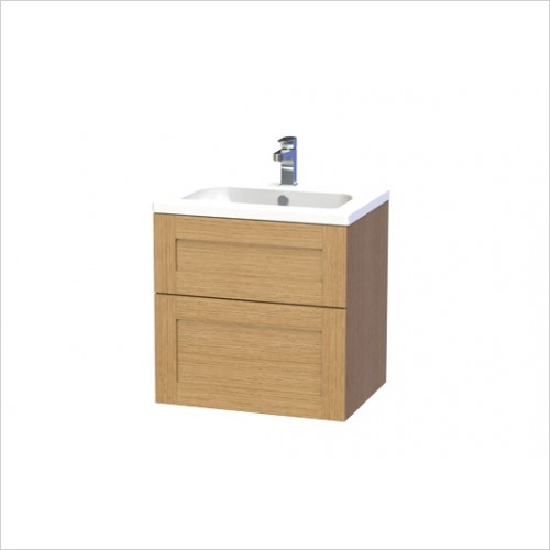 Miller Furniture - London Vanity Unit 60cm With 2 Drawers