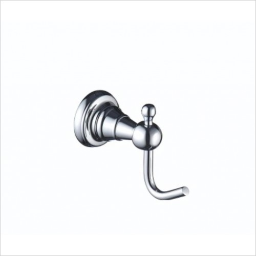 Heritage Accessories - Holborn Bathroom Robe Hook in Chrome