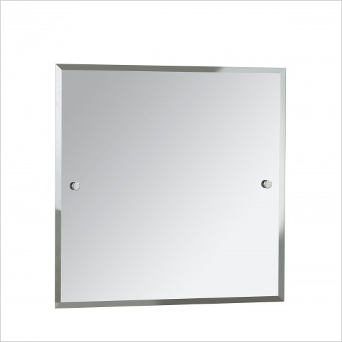Heritage Accessories - Harlesden Square 600x600mm Mirror