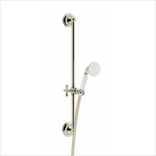 Heritage Showers - Shower Set with Flexible Kit - In Gold