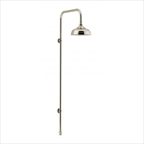 Heritage Showers - Deluxe Fixed Kit & Rose