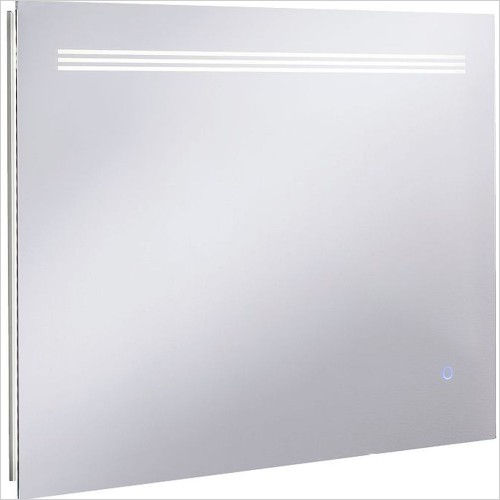 Crosswater Accessories - Radiance Mirror 600 x 800mm LED