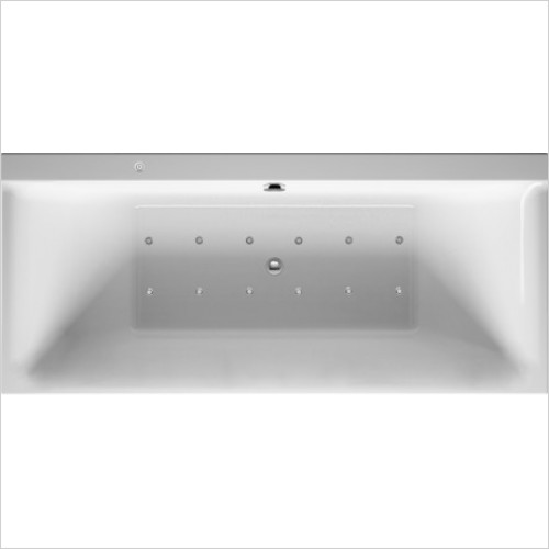 Duravit Baths - P3 Comforts Whirltub 1800x800mm, , Built-In Or For Panel