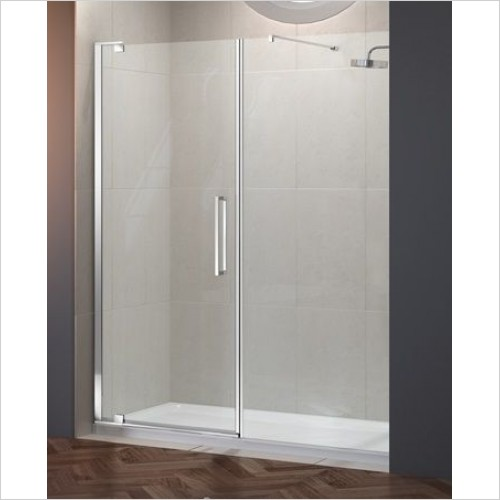 Merlyn Shower Enclosures - 10 Series Pivot Door 1000mm & Inline Panel 800mm