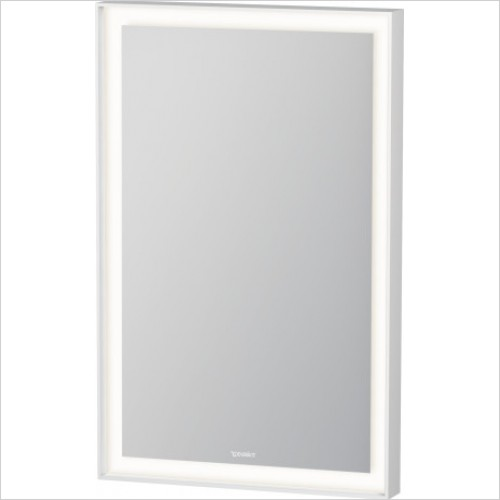 Duravit Accessories - L Cube Mirror With Lighting 700x450x67mm