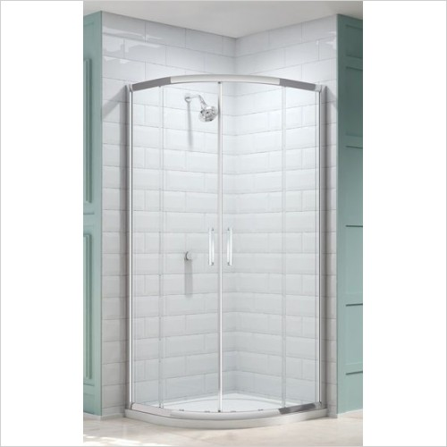 Merlyn Shower Enclosures - 8 Series 2 Door Quad 800mm Incl MStone Tray