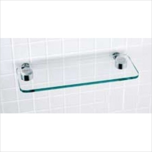Matki Accessories - Elixir Straight Glass Shelf 360.5 x 108mm