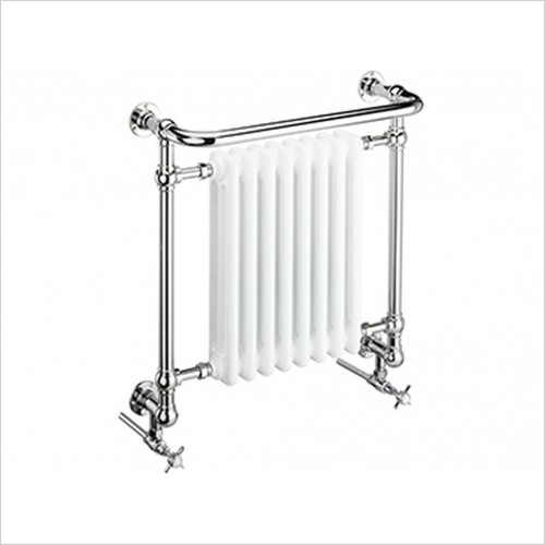 Heritage Heating - Clifton Wall Heated Towel Rail