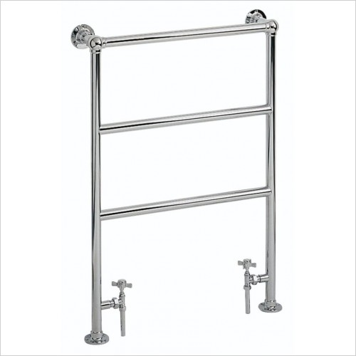 Heritage Heating - Victorian Heated Bathroom Towel Rail - Chrome Finish