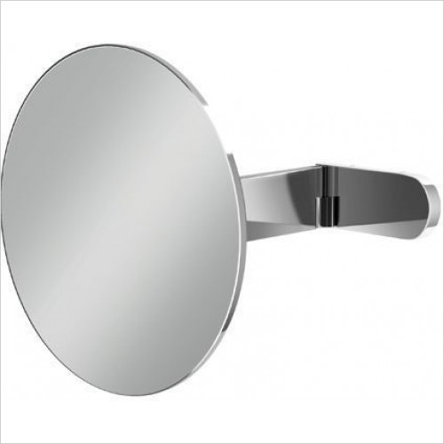 HIB Accessories - Pure Round Magnifying Bathroom Mirror Ø20cm