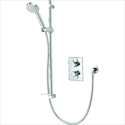 Aqualisa Showers - Dream DCV Mixer Shower With Adjustable Head - HP/Combi