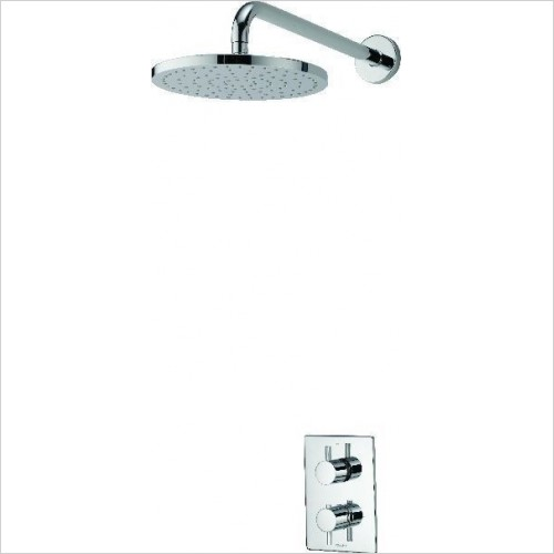 Aqualisa Showers - Dream DCV Mixer Shower W Wall Fixed Drencher Head