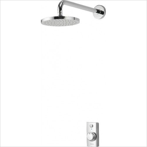 Aqualisa Showers - Visage Digital Concealed With Fixed Head - Gravity Pumped