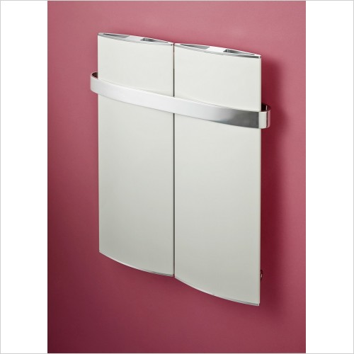 Bisque Radiators - Lissett Towel Radiator 600 x 400mm