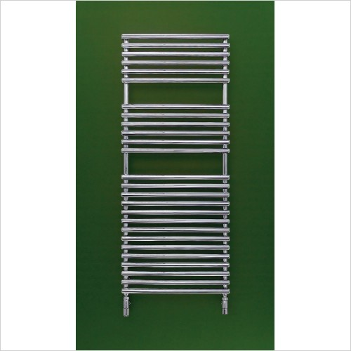 Bisque Radiators - Electric Straight Fronted Towel Radiator 796 x 496mm