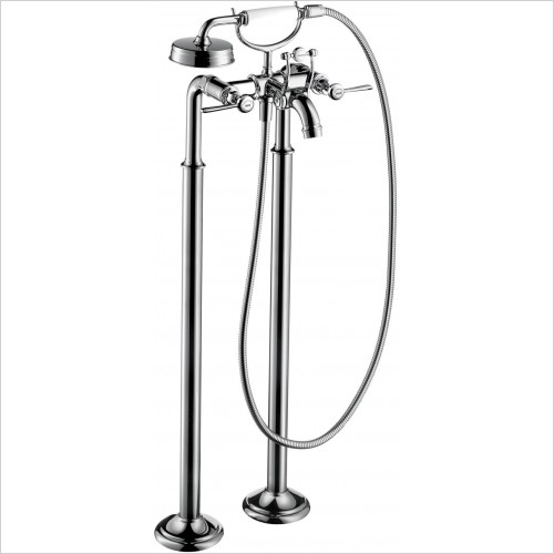 Axor Showers - Montreux Floorstanding 2-Handle Bath Mixer, Lever Handles