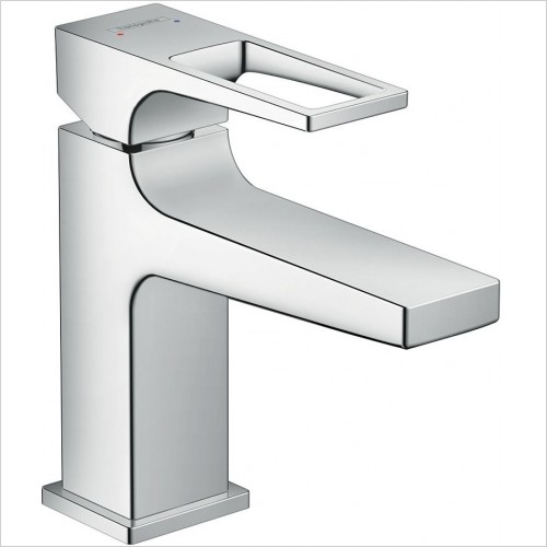 Hansgrohe Taps - Metropol Single Lever Basin Mixer 100 With Push-Open Waste