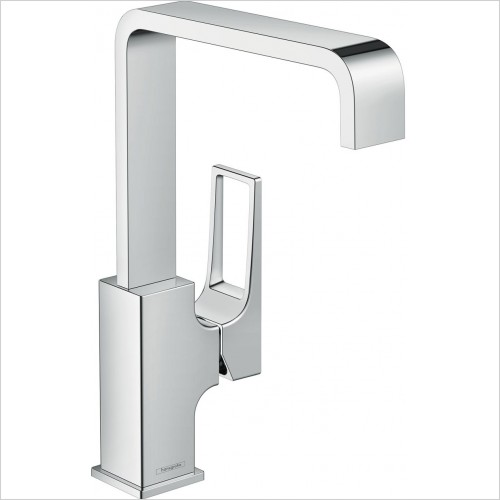 Hansgrohe Taps - Metropol Single Lever Basin Mixer 230 With Push-Open Waste