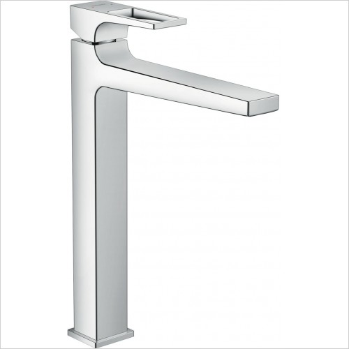 Hansgrohe Taps - Metropol Single Lever Basin Mixer 260 With Push Open Waste