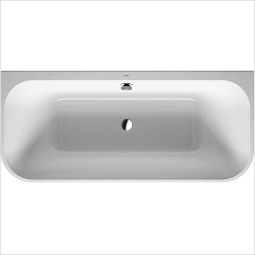 Duravit Baths - Happy D.2 Bathtub 1800x800mm Back-To-Wall