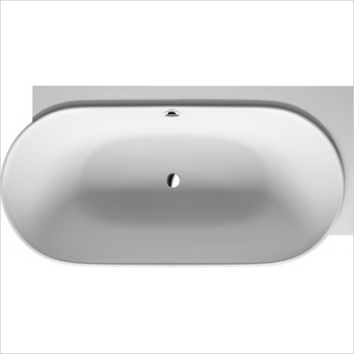 Duravit Baths - LUV 1850x950mm Corner Right With Two Backrest Slopes