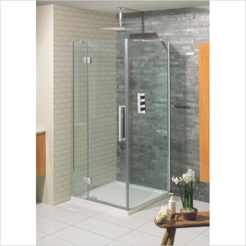 Crosswater Shower Enclosures - Ten Side Panel 900mm