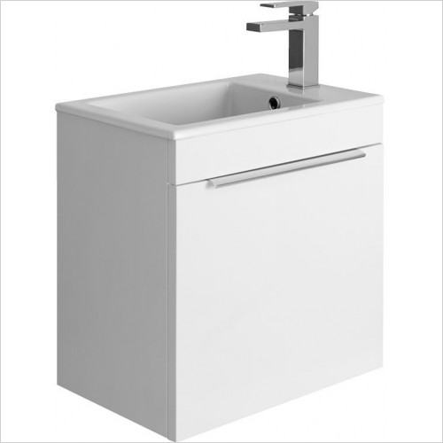 Crosswater Bathroom Furniture - Zion Single Drawer Unit