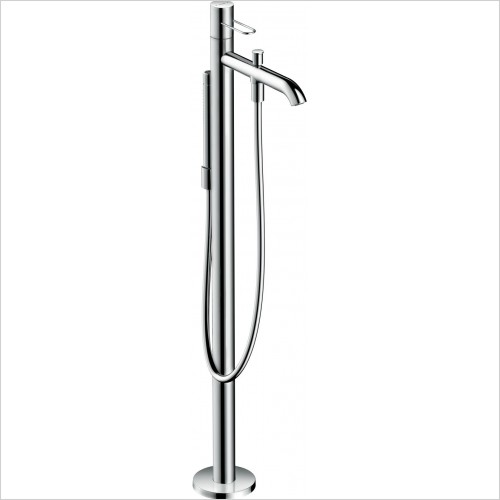Axor Showers - Uno Floorstanding Single Lever Bath Mixer Loop Handle