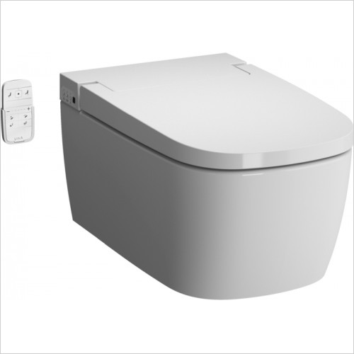 Vitra Toilets - V-Care Intelligent Rimless Wall Hung WC Pan, Comfort