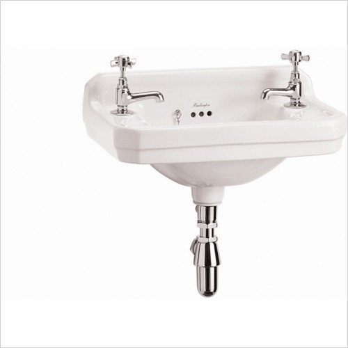 Burlington Basins - Edwardian 2H 510 Cloakroom Basin