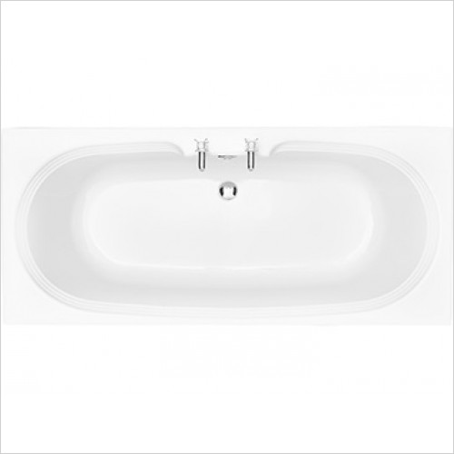 Heritage Bathtubs - Dorchester Double Ended 1700x750 Acrylic Fitted Bath