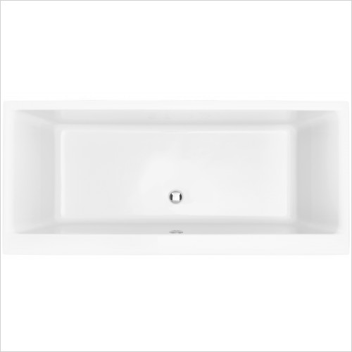 Heritage Bathtubs - Blenheim Doubled Ended 1800 x 800 Acrylic Fitted Bath