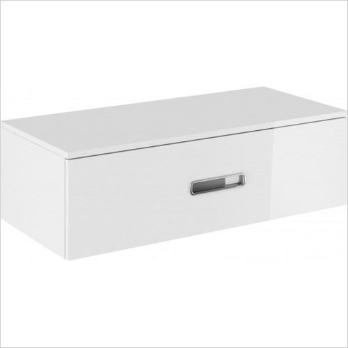 Crosswater Bathroom Furniture - Seattle Basin Console 1000mm