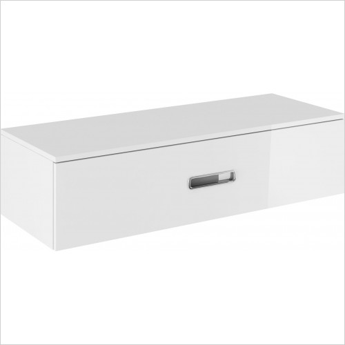 Crosswater Bathroom Furniture - Seattle Basin Console 1200mm