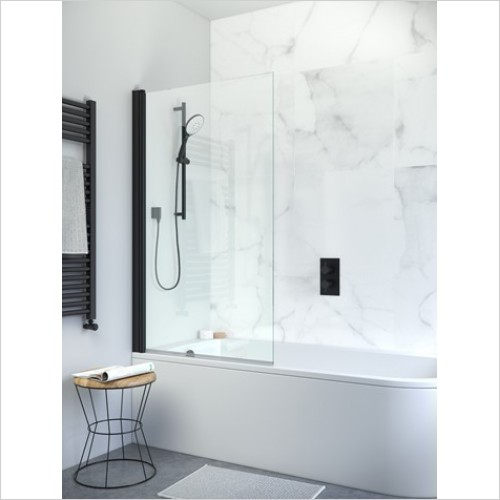 Crosswater Shower Enclosures - Design+ Single Panel Bath Screen