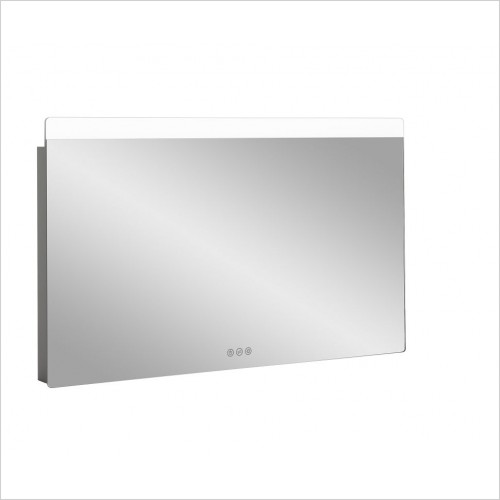 Crosswater Accessories - Glide II Illuminated Mirror 1000x600mm