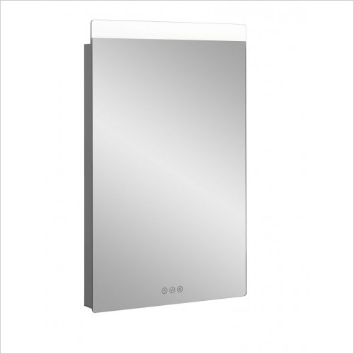 Crosswater Accessories - Glide II Illuminated Mirror 500x800mm