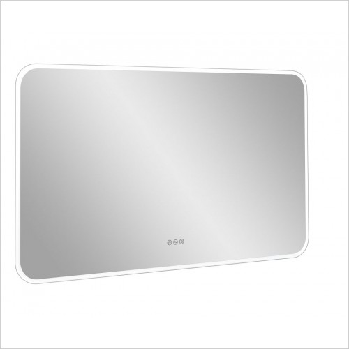 Crosswater Accessories - Svelte Illuminated Mirror 1200x700mm