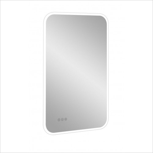 Crosswater Accessories - Svelte Illuminated Mirror 500x800mm