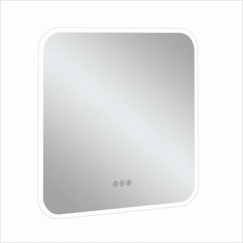 Crosswater Accessories - Svelte Illuminated Mirror 600x600mm