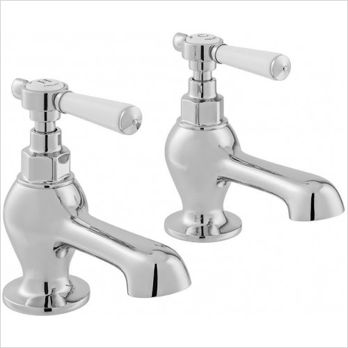 VADO Taps - Axbridge Lever Bath Pillar Taps