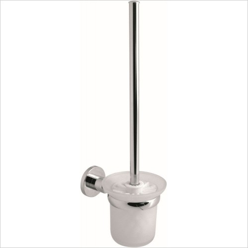 VADO Accessories - Elements Toilet Brush & Holder Wall Mounted