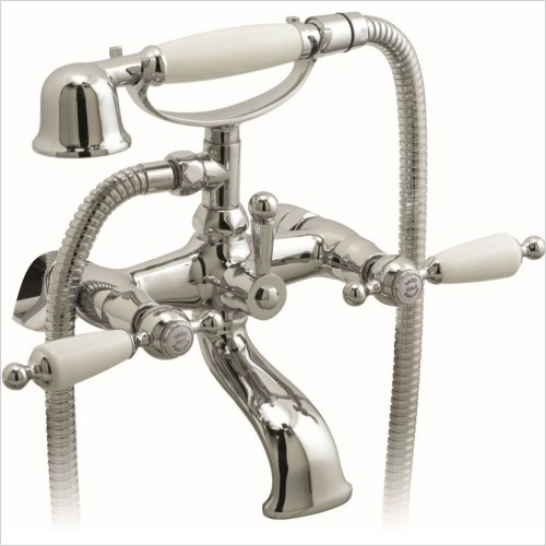VADO Showers - Kensington Exposed Bath Shower Mixer Wall Mounted