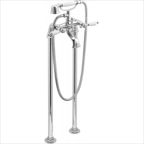 VADO Showers - Kensington Bath Shower Mixer Floor Mounted