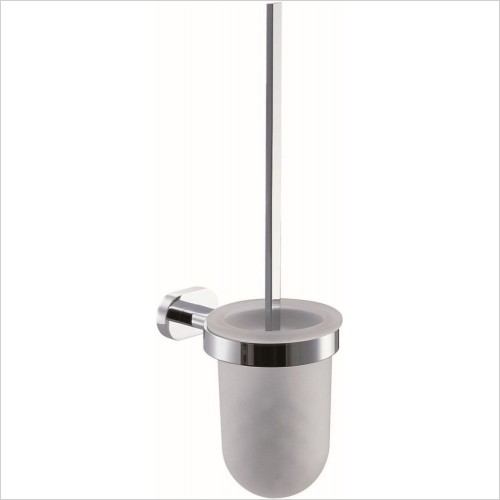VADO Accessories - Life Toilet Brush & Holder Wall Mounted