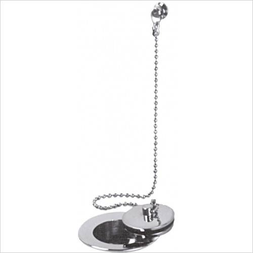 Vado Optional Accessories - Basin Waste Metal Plug & Chain 1 1/4''