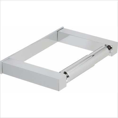 VADO Accessories - Square Closed Paper Holder Wall Mounted