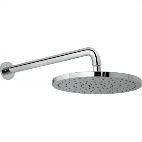 VADO Showers - Saturn 254mm (10'') Round Shower Head & Arm