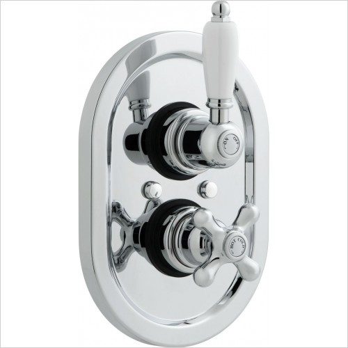 VADO Showers - Westbury Concealed Thermostatic Shower Valve